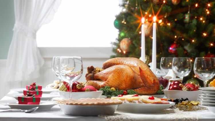 Como tener una buena alimentacion en Navidad