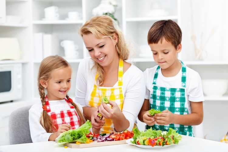 Que es una alimentacion saludable para niños