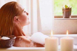 Baño spa en casa