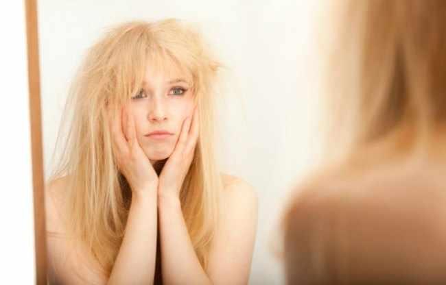 como cuidar el pelo seco y maltratado