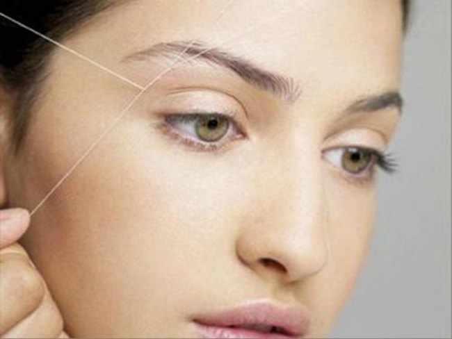 Cinco beneficios de la depilación con hilo