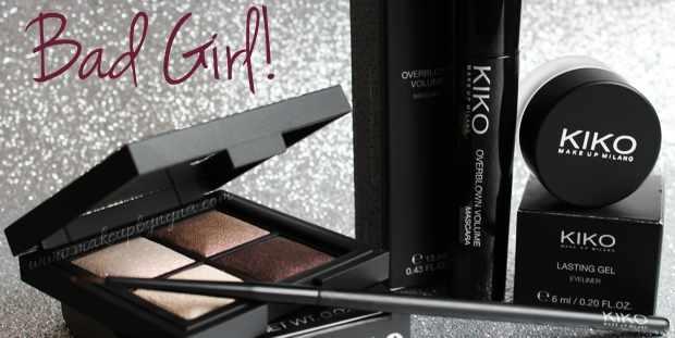 Nueva colección Bad Girl de cosméticos de mujer Kiko