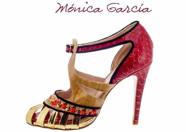 coleccion de zapatos barroco Mónica García