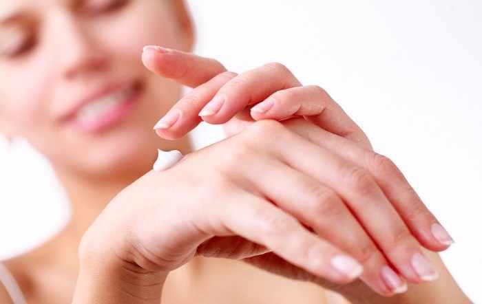 Crema manos secas