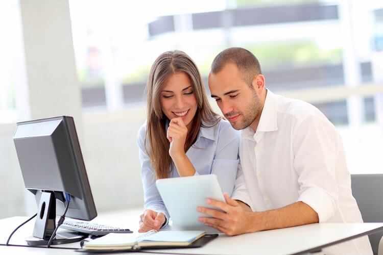 Relacion de pareja en el trabajo
