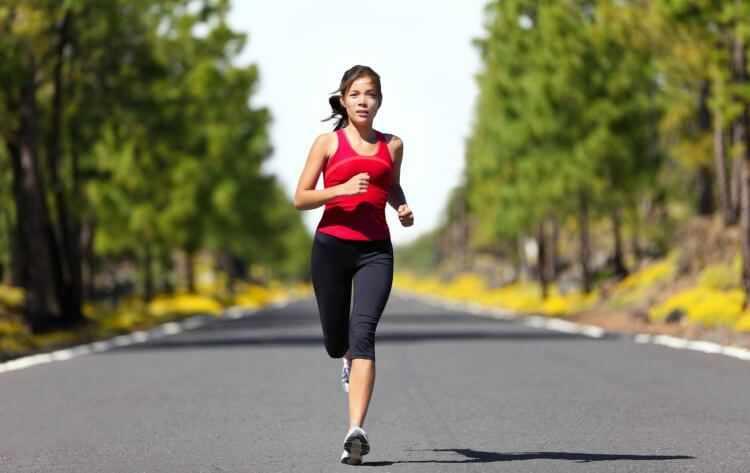 Correr para estar en forma