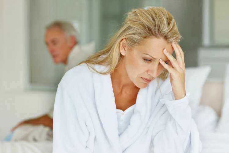 Sintomas de la menopausia en la mujer