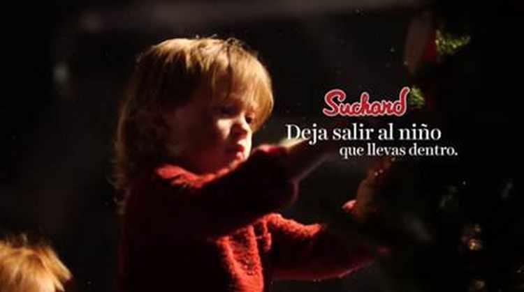 Vive la Navidad como un niño gracias a Suchard
